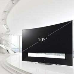 Телевизор 4K LG 105UC9V (изогнутый экран)