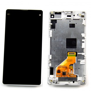 Замена экрана в рамке Sony Xperia Z1 Compact