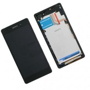 Замена дисплей с сенсорным стеклом (тачскрин) в рамке Sony Xperia Z2