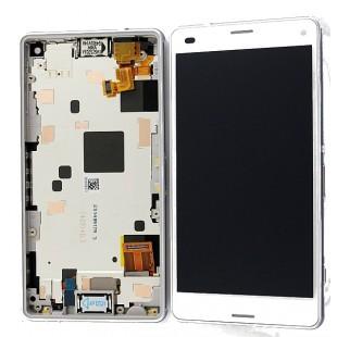 Замена дисплей с сенсорным стеклом (тачскрин) в рамке Sony Xperia Z3
