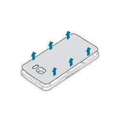 Замена задней крышки аккумулятора Samsung Galaxy S6 Edge
