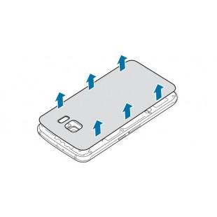Замена задней крышки аккумулятора Samsung Galaxy S6