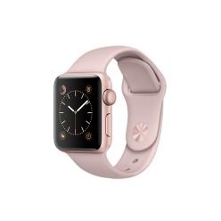 Apple Watch Series 2, MNNY2, 38 мм, корпус из алюминия цвета «розовое золото», спортивный ремешок цвета «розовый песок»